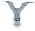 "6 1/2""WING SPAN FLYING EAGLE - POLE TOP"