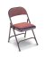 Extra Thick Folding Chair with Padded Seat & Back
