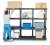 "HDPE Shelving System Add-on Unit - 36"" x 16"" x 24"""