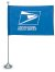 USPS Logo Flag Kit - 4' x 6' Flag