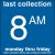 COLECTION BOX DECALS - 8:00 A.M.
