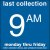 COLECTION BOX DECALS - 9:00 A.M.