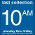 COLLECTION BOX DECALS - 10:00 A.M.