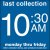 COLLECTION BOX DECAL 10:30 AM
