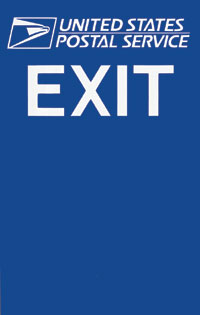 EXIT Sign w/Logo