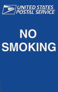 No Smoking Sign w/ Logo