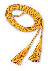 GOLD CORD AND TASSELS FOR 2X3 FLAG