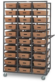 30 Tray Capacity Mail Tray Distribution Rack