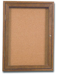 "18"" x 24"" Wood Enclosed Corkboard"