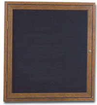 "36"" x 36"" Wood Enclosed Letterboard"