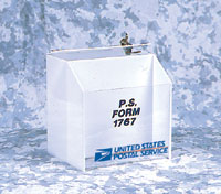 LOCK BOX FOR PS FORM 1767