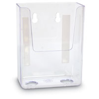 "POCKET FOR FORM UP TO 3¼""W CLEAR/TAPE"
