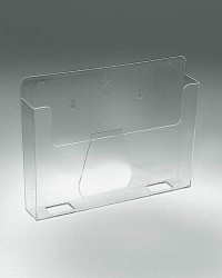 "POCKET FOR FORM UP TO 6¼""W CLEAR/TAPE"