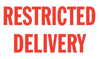 N12-000 RESTRICTED DELIVERY