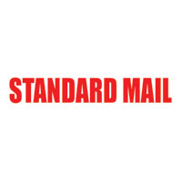 """Standard Mail"" Pre-inked Counter Stamp"
