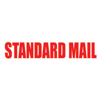 Standard Mail (Formerly Bulk Rate) Pre-Inked Stamp