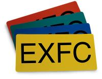 Horizontal EXFC Marker Card