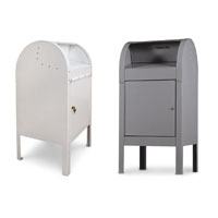 Curbside Collection Box - White or Grey (Private Delivery Only)