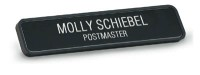 "9 1/8"" x 1 3/4"" Wall Nameplate with Designer Frame"