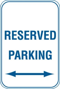 12X18 RESERVED PARKING <------>