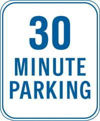 12X18 30 MINUTE PARKING