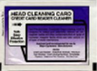 Credit Card Terminal Head Cleaner (10/pk)