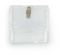"3½"" x 2½"" Clip-On Badge Holder"
