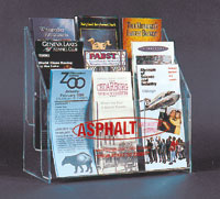 9 PKT ACRYLIC RACK FOR 4 X 9 FORMS
