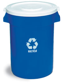 32 gallon Huskee Recycling Container