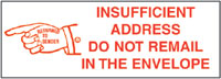EA19,UPGRADE RUBBER STAMP-INSUFFICIENT A