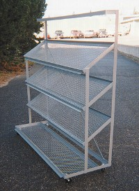 Vertical Tier Tub Rack