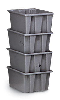 "400 lb. Capacity Tote Container - 10"" high"