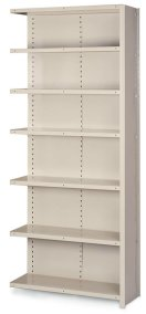 "18""DX36""WX84""H 7 SHELF ADD-ON UNIT"
