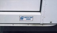 """Watch That Child"" Bumper Sticker"