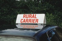 """Rural Carrier"" Car Top Sign"