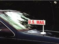 """U.S. Mail"" Car Top Flag"