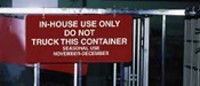 GPMC Container Sign