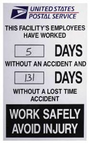 "24"" X 36"" Accident Report Sign, Framed"
