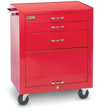 3 Drawer/1 Compartment Roller Cabinet