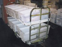 Flat Tote Rack for Nutting Truck