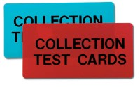 Collection Box Test Cards