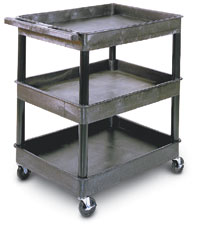 "38½""H 3 Shelf Utility Cart"