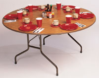 "48"" Round Fixed Height Table"