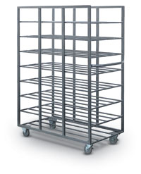 24 Tray Capacity Mail Tray Distribution Rack