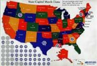 State Capital Match Game