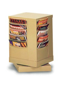 20 Pocket Rotary Con-Tur Literature Rack