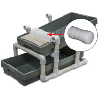 Mail Roller for Waffle Trays
