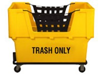 "Yellow Container Truck - ""Trash Only"""