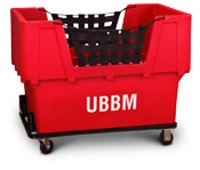 "Red Container Truck - ""UBBM"""