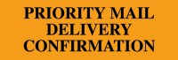 Priority Mail Delivery Confirmation